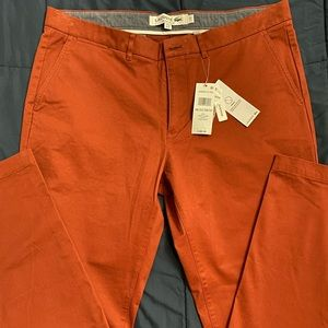 Lacoste men's chino pants